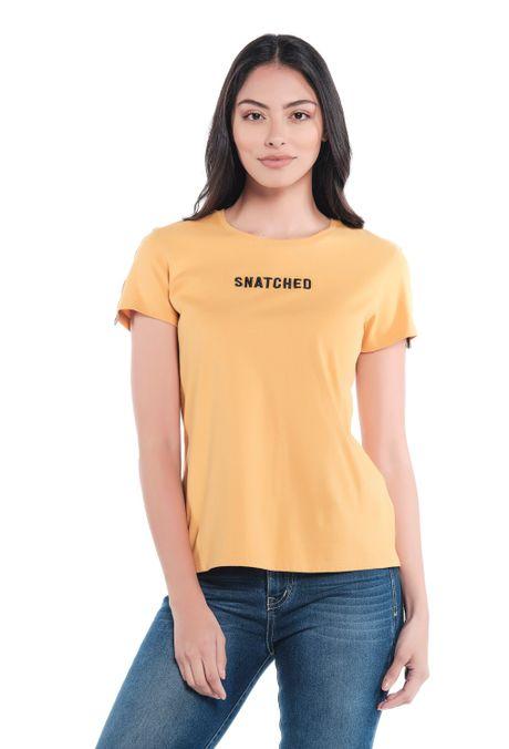 Camiseta-QUEST-Custom-Fit-QUE212190002-50-Mostaza-1