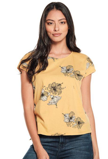 Camiseta-QUEST-QUE263190033-50-Mostaza-1