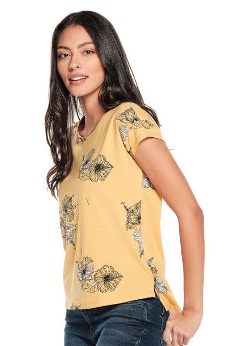 Camiseta-QUEST-QUE263190033-50-Mostaza-2