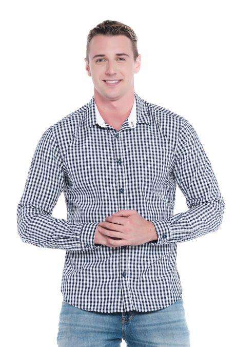Camisa-QUEST-Slim-Fit-QUE111LW0022-16-Azul-Oscuro-1