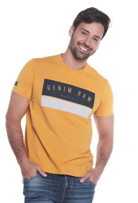 Camiseta-QUEST-Slim-Fit-QUE112190138-50-Mostaza-1