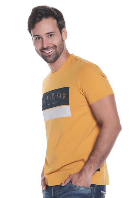 Camiseta-QUEST-Slim-Fit-QUE112190138-50-Mostaza-2