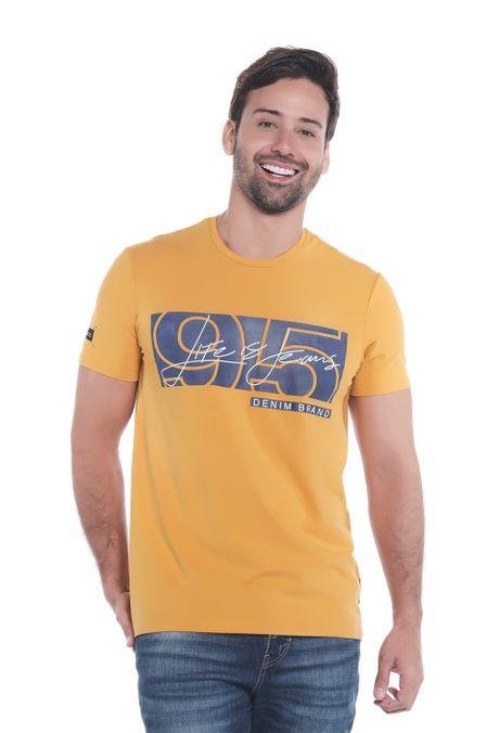 Camiseta-QUEST-Slim-Fit-QUE112190183-50-Mostaza-1