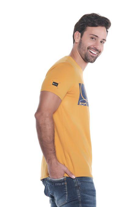 Camiseta-QUEST-Slim-Fit-QUE112190183-50-Mostaza-2