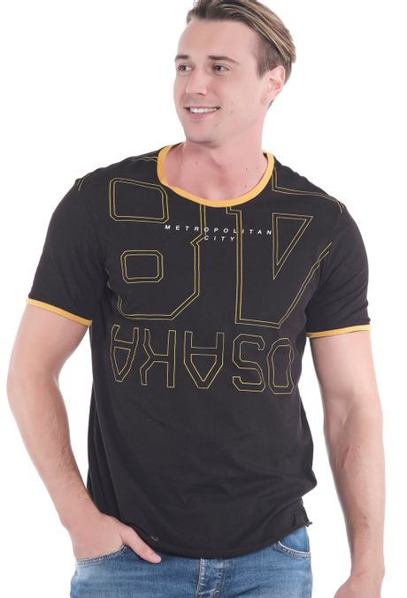 Camiseta-QUEST-Original-Fit-QUE112OU0050-19-Negro-1