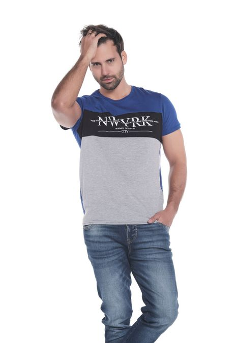 Camiseta-QUEST-Slim-Fit-QUE112OU0057-46-Azul-Rey-1