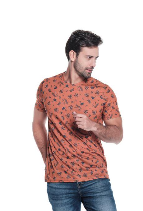 Camiseta-QUEST-Slim-Fit-QUE163190128-1-Ocre-1