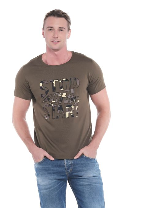 Camiseta-QUEST-Slim-Fit-QUE163LW0082-38-Verde-Militar-1