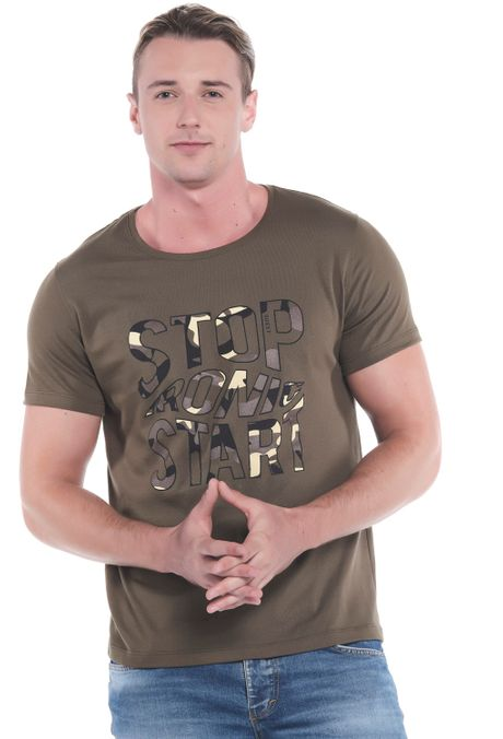 Camiseta-QUEST-Slim-Fit-QUE163LW0082-38-Verde-Militar-2