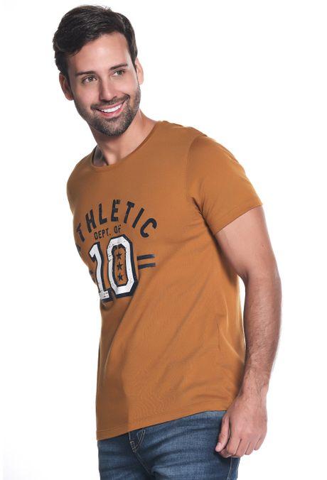 Camiseta-QUEST-Slim-Fit-QUE163LW0097-1-Ocre-2