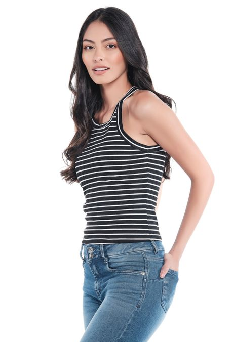 Blusa-QUEST-Slim-Fit-QUE201190239-66-Negro-Blanco-2