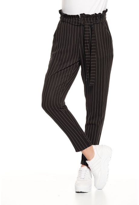 Pantalon-QUEST-Straight-Fit-QUE209190023-19-Negro-1