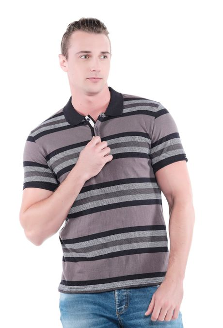 Polo-QUEST-Slim-Fit-QUE162190148-19-Negro-1