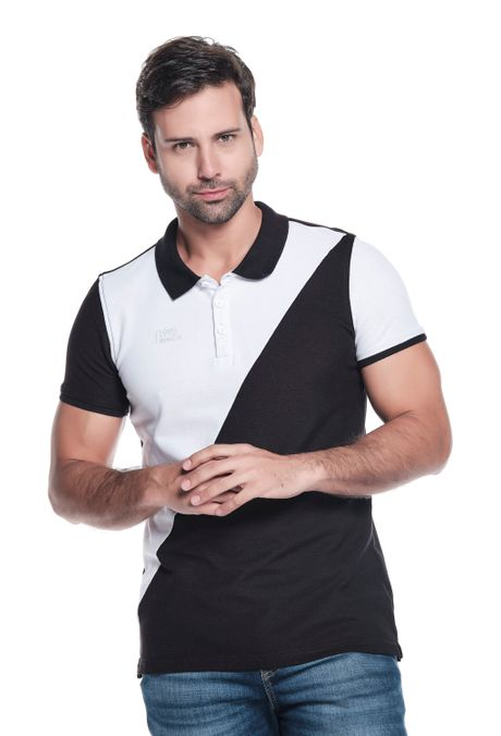 Polo-QUEST-Slim-Fit-QUE162OU0021-19-Negro-1