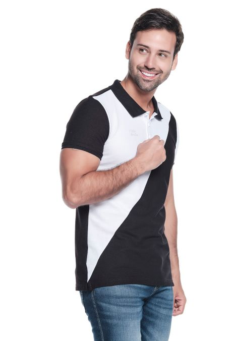 Polo-QUEST-Slim-Fit-QUE162OU0021-19-Negro-2