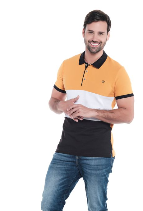 Polo-QUEST-Slim-Fit-QUE162OU0025-50-Mostaza-1