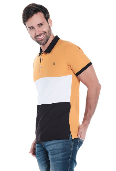Polo-QUEST-Slim-Fit-QUE162OU0025-50-Mostaza-2