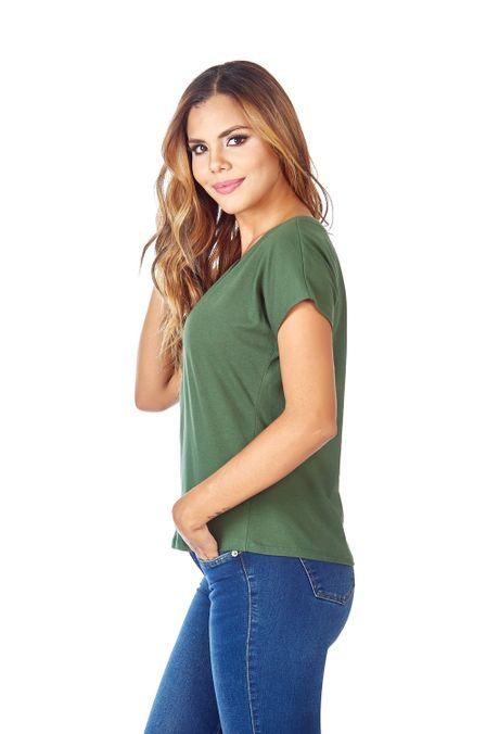 Camiseta-QUEST-Custom-Fit-QUE263LW0023-38-Verde-Militar-2