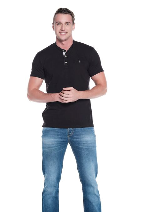 Polo-QUEST-Slim-Fit-QUE162OU0001-19-Negro-2