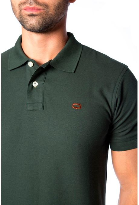 Polo-QUEST-Slim-Fit-QUE162BA0012-132-Verde-Militar-Oscuro-2
