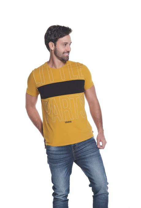 Camiseta-QUEST-Slim-Fit-QUE112OU0051-142-Ocre-Claro-1