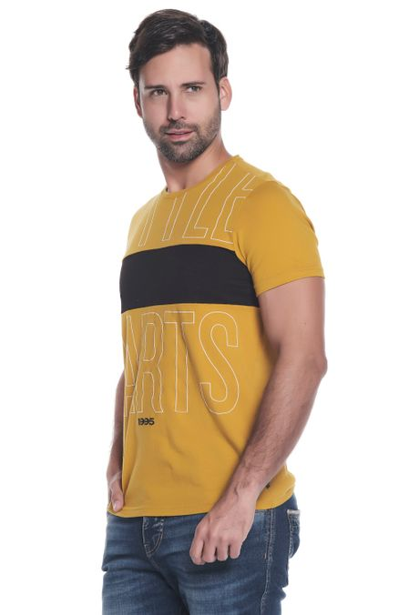 Camiseta-QUEST-Slim-Fit-QUE112OU0051-142-Ocre-Claro-2