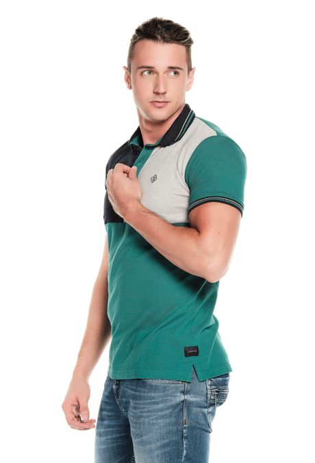 Polo-QUEST-Slim-Fit-QUE162190176-131-Verde-Pino-2