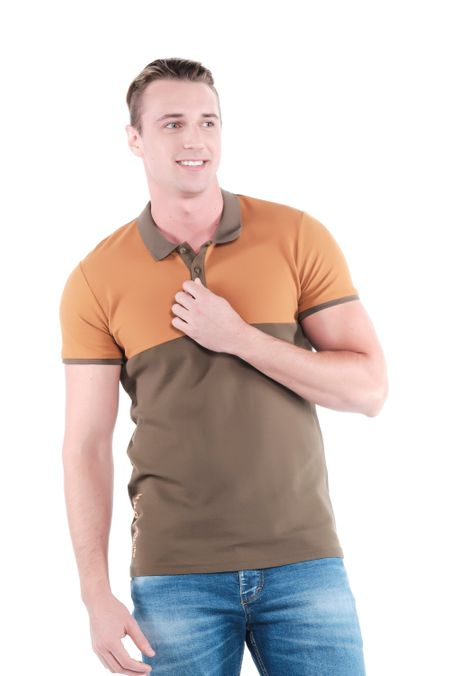 Polo-QUEST-Slim-Fit-QUE162OU0029-132-Verde-Militar-Oscuro-1