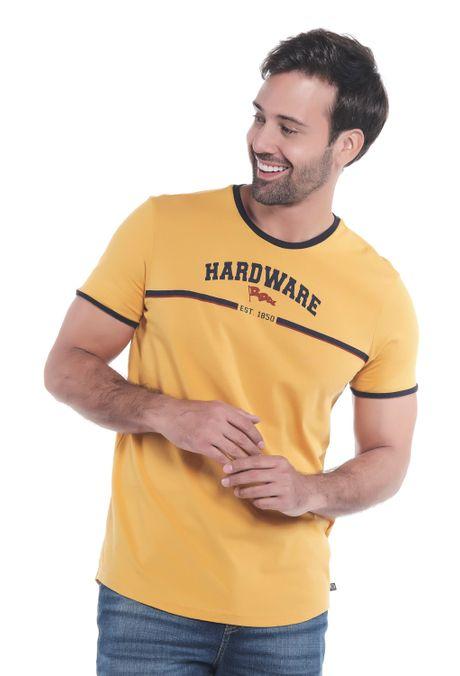 Camiseta-QUEST-Slim-Fit-QUE112OU0040-50-Mostaza-1