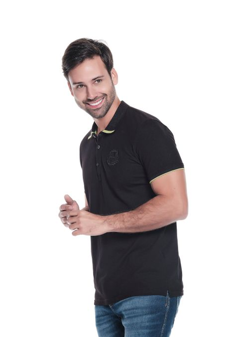Polo-QUEST-Slim-Fit-QUE162190152-19-Negro-1