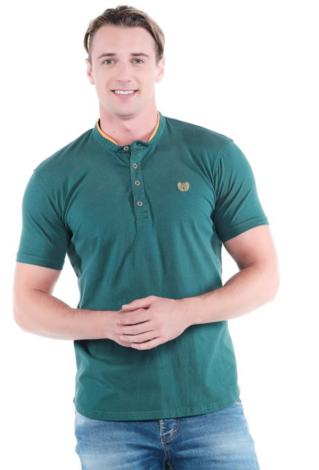 Polo-QUEST-Original-Fit-QUE162OU0009-131-Verde-Pino-1