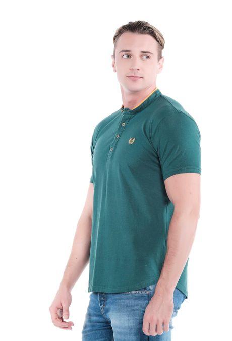 Polo-QUEST-Original-Fit-QUE162OU0009-131-Verde-Pino-2