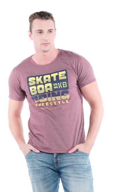 Camiseta-QUEST-Slim-Fit-QUE163LW0104-153-Vino-Cross-1