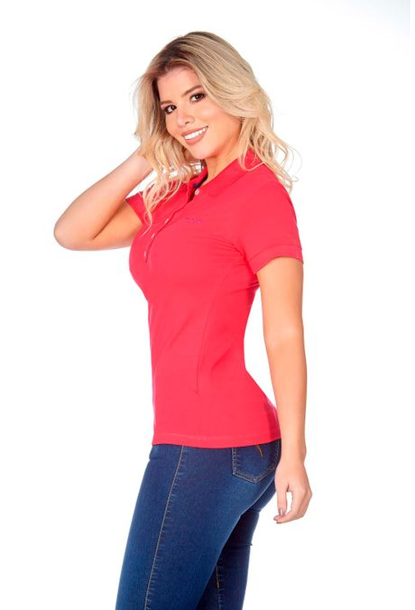 Polo-QUEST-Slim-Fit-QUE262BA0008-8-Fucsia-2