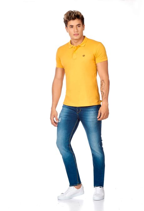 Polo-QST-Slim-Fit-QST162BA0002-50-Mostaza-2