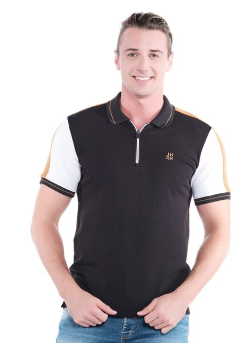 Polo-QUEST-Slim-Fit-QUE162190129-19-Negro-1