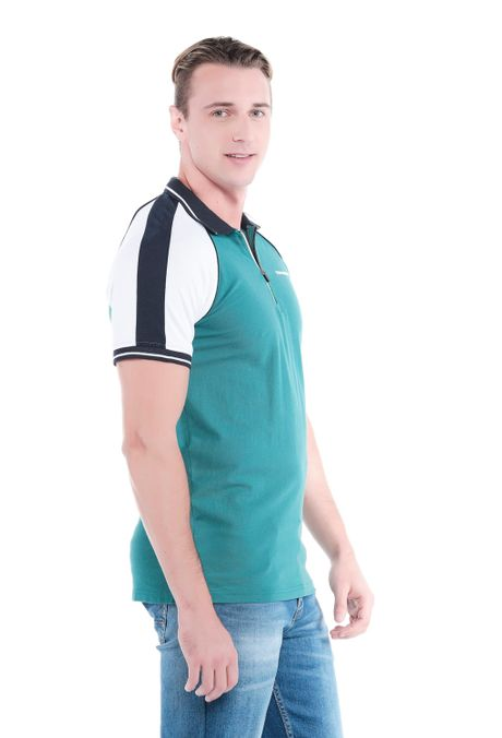 Polo-QUEST-Slim-Fit-QUE162190173-131-Verde-Pino-2