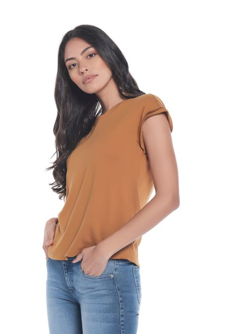 Camiseta-QUEST-Custom-Fit-QUE263LW0050-1-Ocre-2