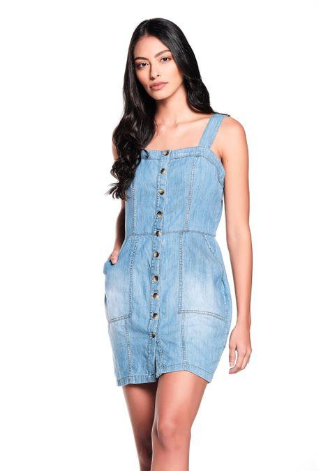 Vestido-QUEST-QUE204190032-95-Azul-Medio-Claro-1