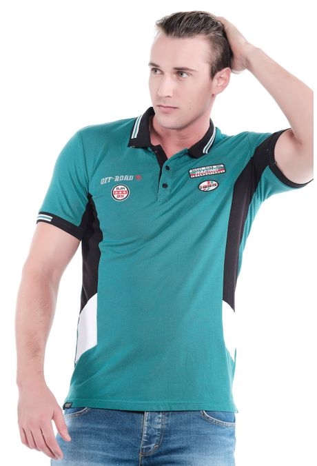 Polo-QUEST-Slim-Fit-QUE162190182-131-Verde-Pino-1