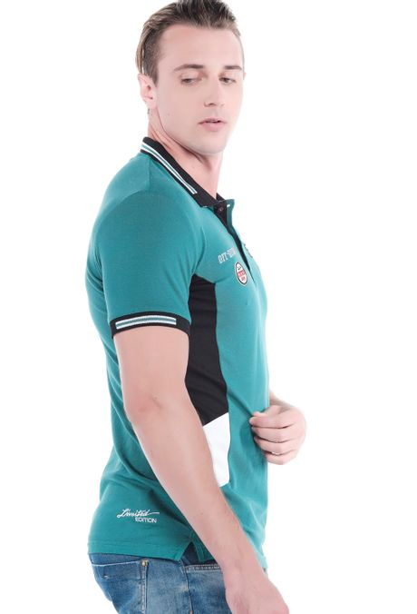 Polo-QUEST-Slim-Fit-QUE162190182-131-Verde-Pino-2
