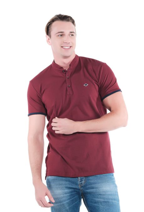 Polo-QUEST-Slim-Fit-QUE162OU0007-37-Vino-Tinto-1