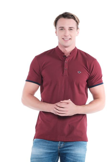 Polo-QUEST-Slim-Fit-QUE162OU0007-37-Vino-Tinto-2