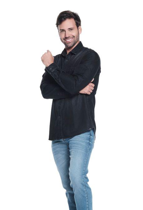 Camisa-QUEST-Slim-Fit-QUE111190133-19-Negro-2