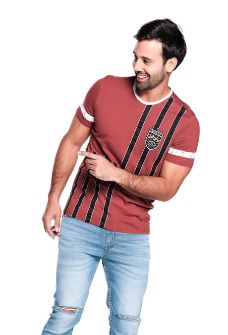 Camiseta-QUEST-Slim-Fit-QUE112190193-145-Rojo-Empolvado-1
