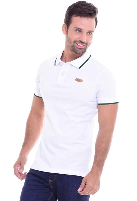 Polo-QUEST-Slim-Fit-QUE162010002-129-Blanco-Verde-Militar-1