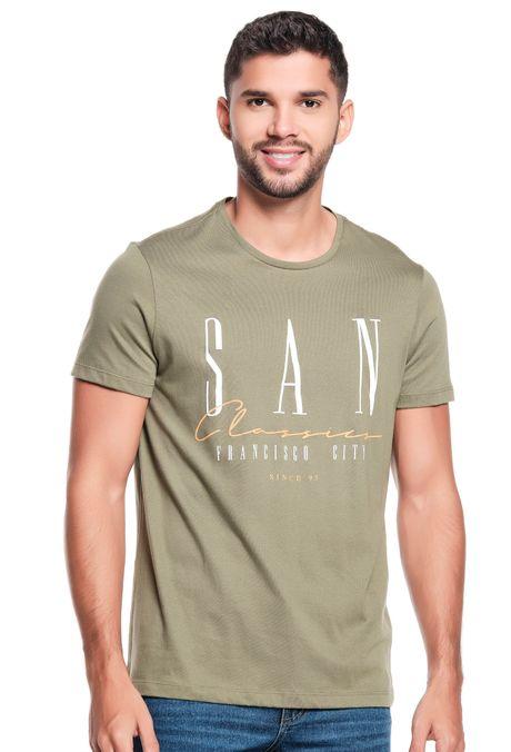Camiseta-Especial-QUEST-Slim-Fit-QUE163LW0091-174-Verde-Hoja-Seca-1