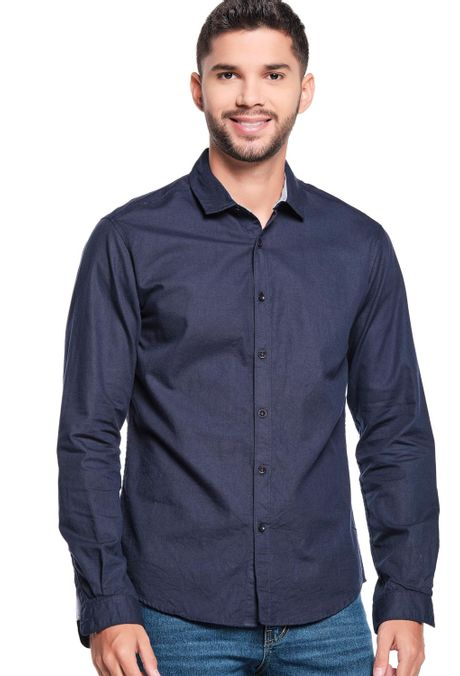 Camisa-QUEST-Slim-Fit-QUE111LW0044-16-Azul-Oscuro-1