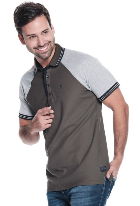 Polo-QUEST-Original-Fit-QUE162190130-132-Verde-Militar-Oscuro-2