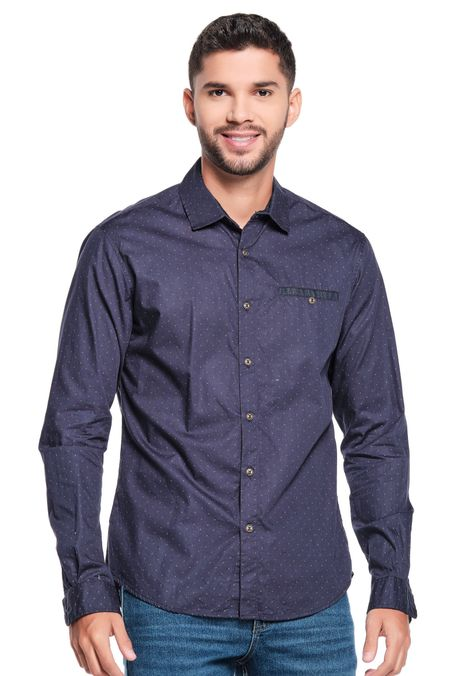 Camisa-QUEST-Original-Fit-QUE111200009-16-Azul-Oscuro-1